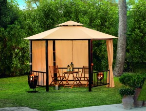 pavillon 6 eckig preisvergleich shops tests 4710955623242. Black Bedroom Furniture Sets. Home Design Ideas