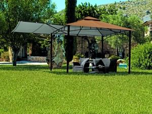 test rite kgs056yu metall pavillon mit preisvergleich shops tests 4710955658817. Black Bedroom Furniture Sets. Home Design Ideas