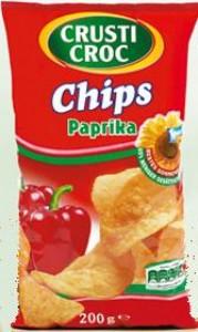 crusti croc paprika chips kalorien kohlenhydrate 20158149. Black Bedroom Furniture Sets. Home Design Ideas