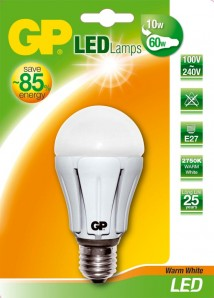 LED Klassisch Rund A60 GP Battery Marketing (Germany) GmbH