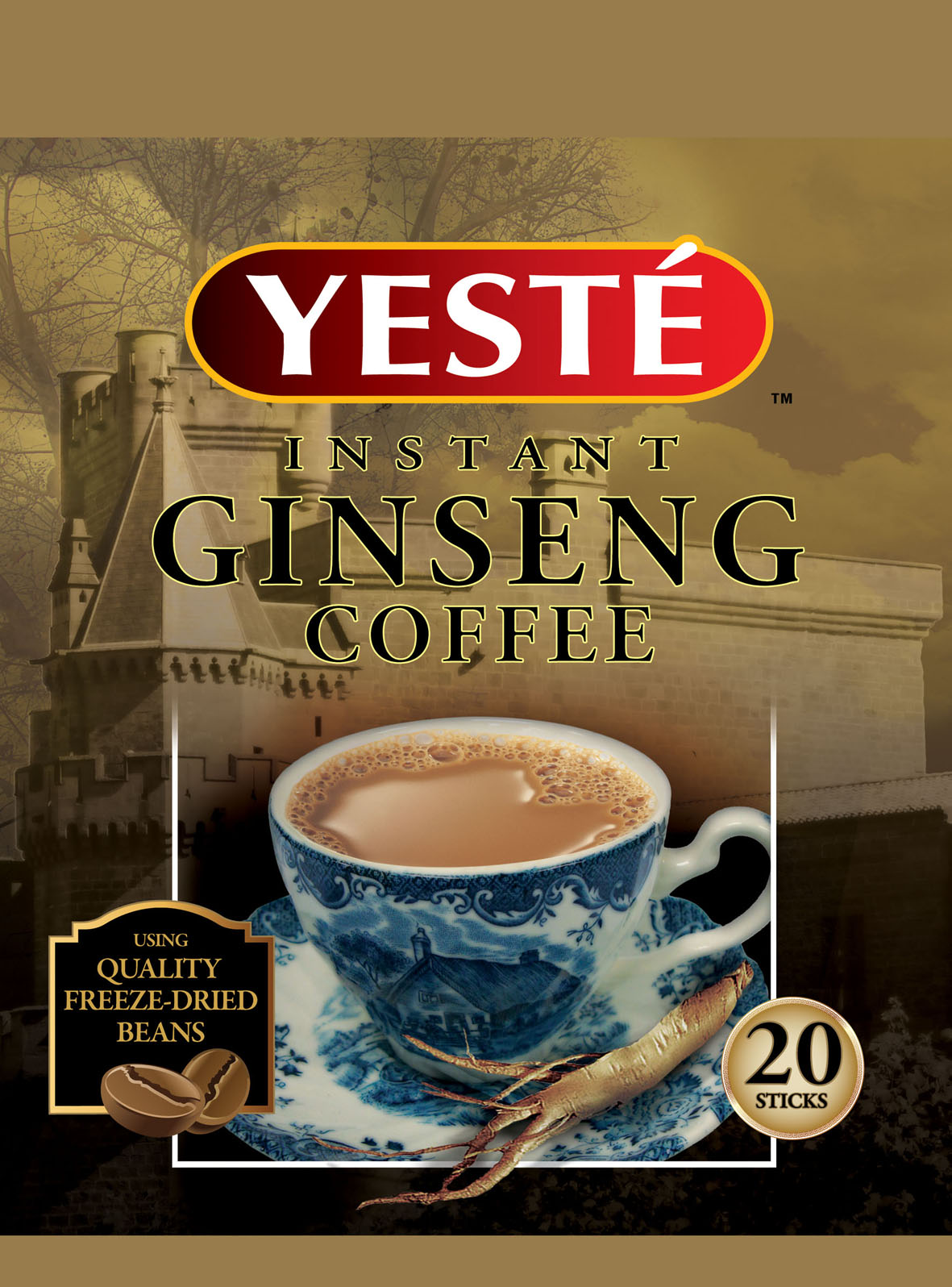 Yeste Ginseng 3 in 1 Instant Coffee Mix Owl International Pte Ltd Coffee/ Coffee Substitutes - Instant Food / Beverage / Tobacco Beverages ...