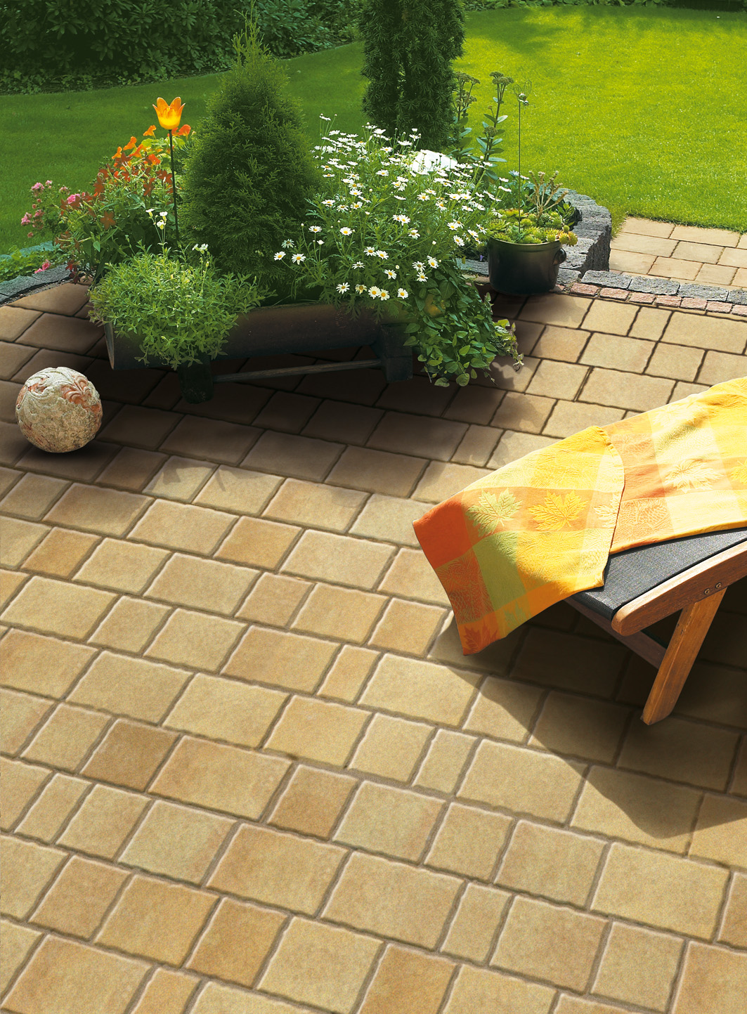 pflaster natura viva gala lusit betonsteinwerke gmbh. Black Bedroom Furniture Sets. Home Design Ideas