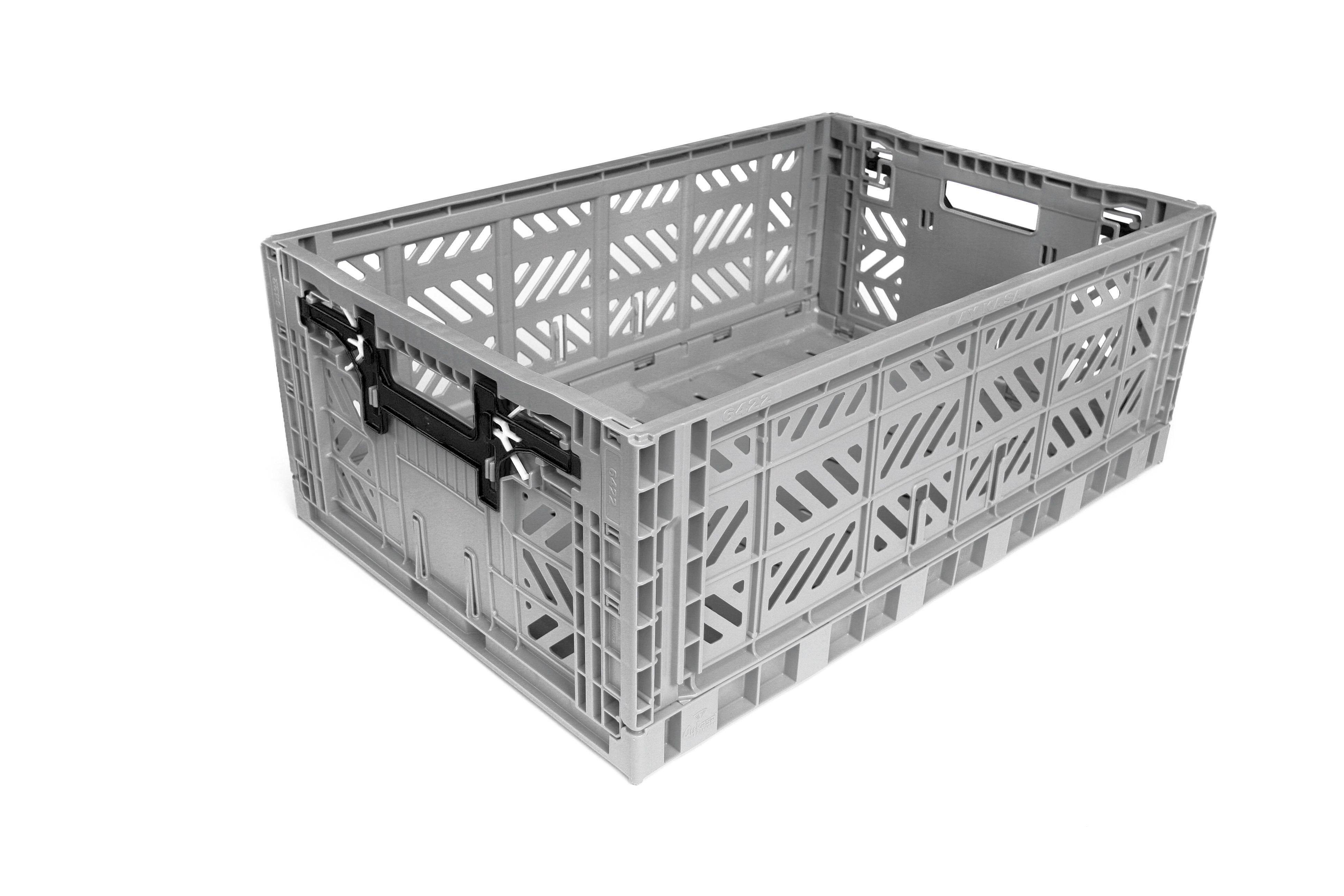 klappbox maxi 22 al grau recycling surplus systems gmbh. Black Bedroom Furniture Sets. Home Design Ideas
