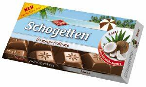 Mauxion Schogetten Cocos 100 Grammes Ludwig Schokolade Gmbh Co