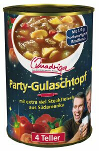 party gulaschsuppe 1062ml 1000 milliliter euroglobe gmbh fertigsuppen und eint pfe ungek hlt. Black Bedroom Furniture Sets. Home Design Ideas