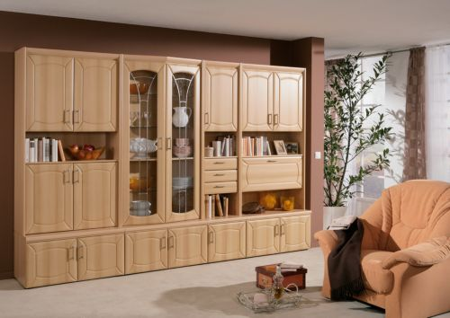 wohnwand gent 315 cm sets aufbewahrungs erg nzungsm bel m bel dekoration. Black Bedroom Furniture Sets. Home Design Ideas