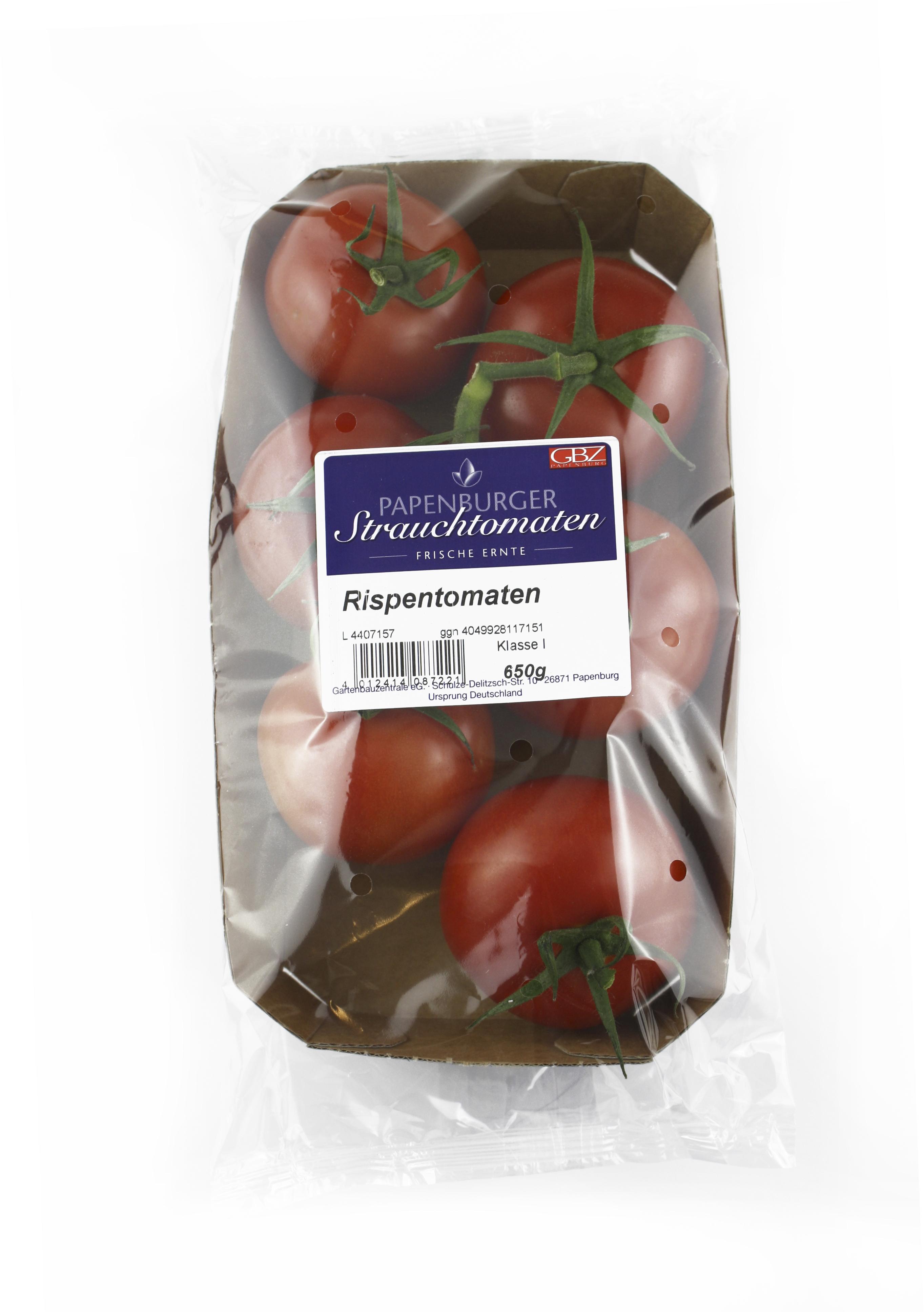 Frische Tomaten aus Deutschland Gartenbauzentrale eG Gemüse ...