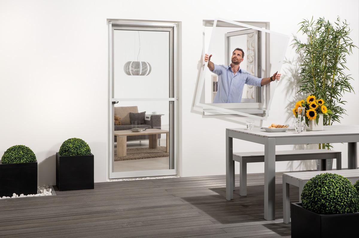 aldi s d fliegengitter f r fenster compact. Black Bedroom Furniture Sets. Home Design Ideas