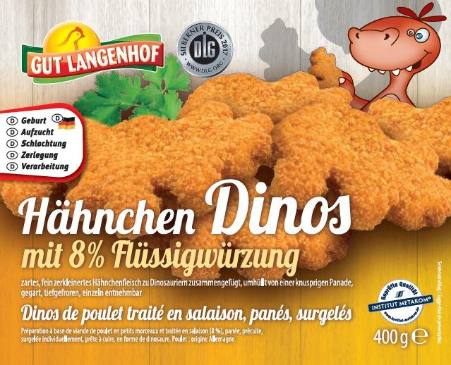 Hähnchen Dinos