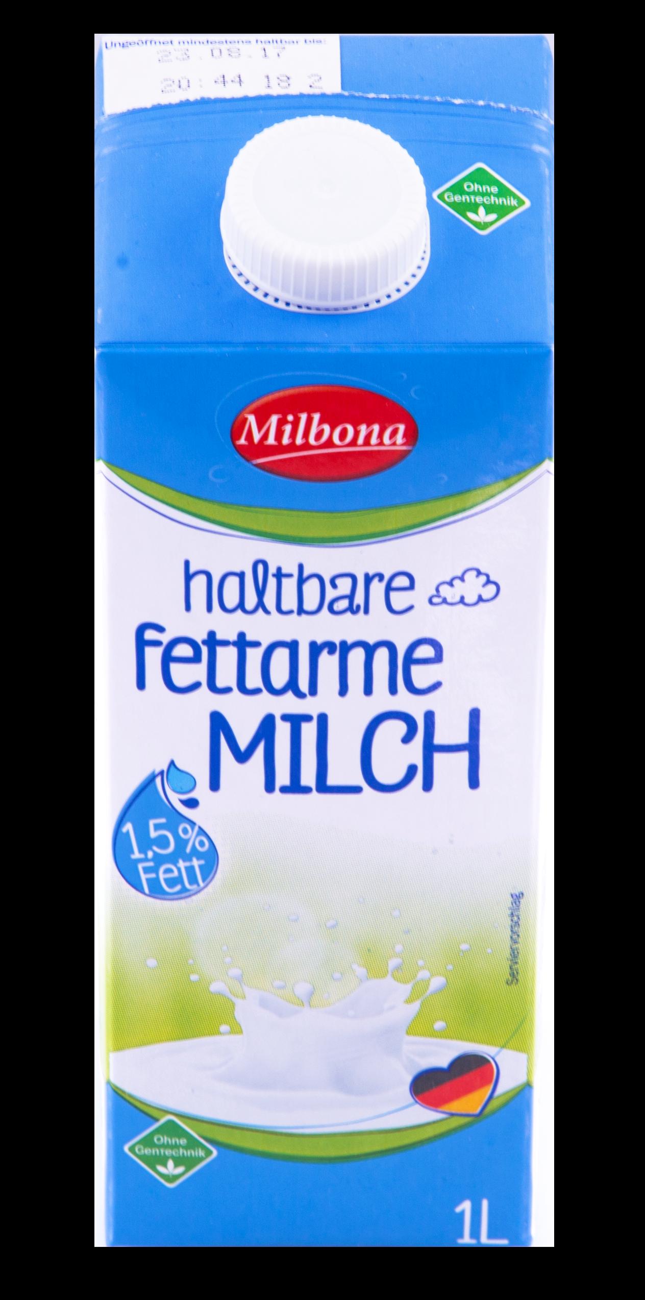 H-Milch Haltbarkeit Ungeöffnet Ungekühlt