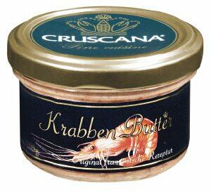 krabben butter 100g 100 gramm larsen danish seafood gmbh butter butterersatz gek hlt. Black Bedroom Furniture Sets. Home Design Ideas
