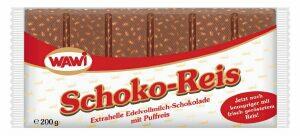 Schoko Reis 200 Gramm Wawi Euro Gmbh Schokolade Lebensmittel