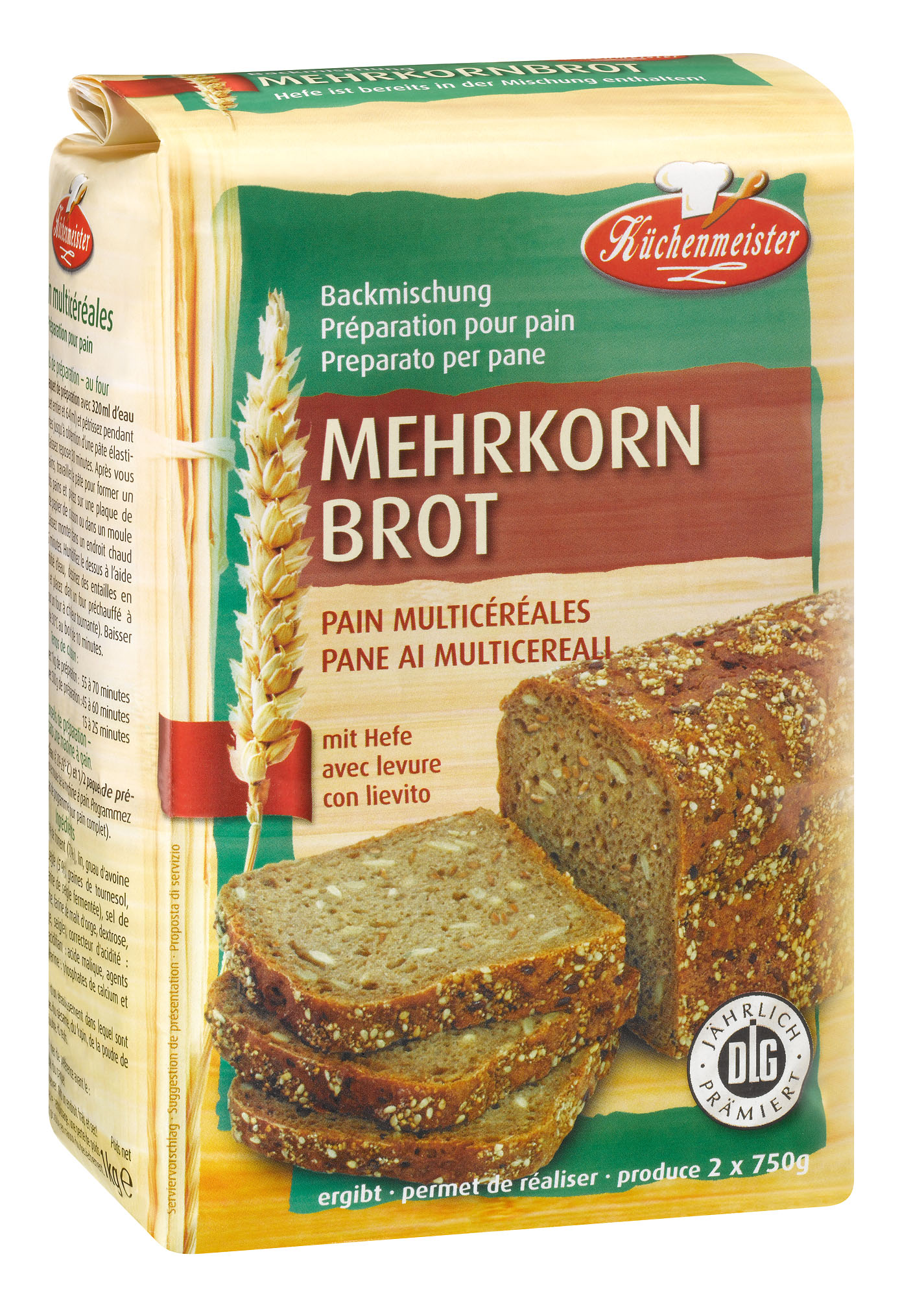 brotbackmischung mehrkornbrot 1 kilogramm hofer oesterreich mynetfair. Black Bedroom Furniture Sets. Home Design Ideas