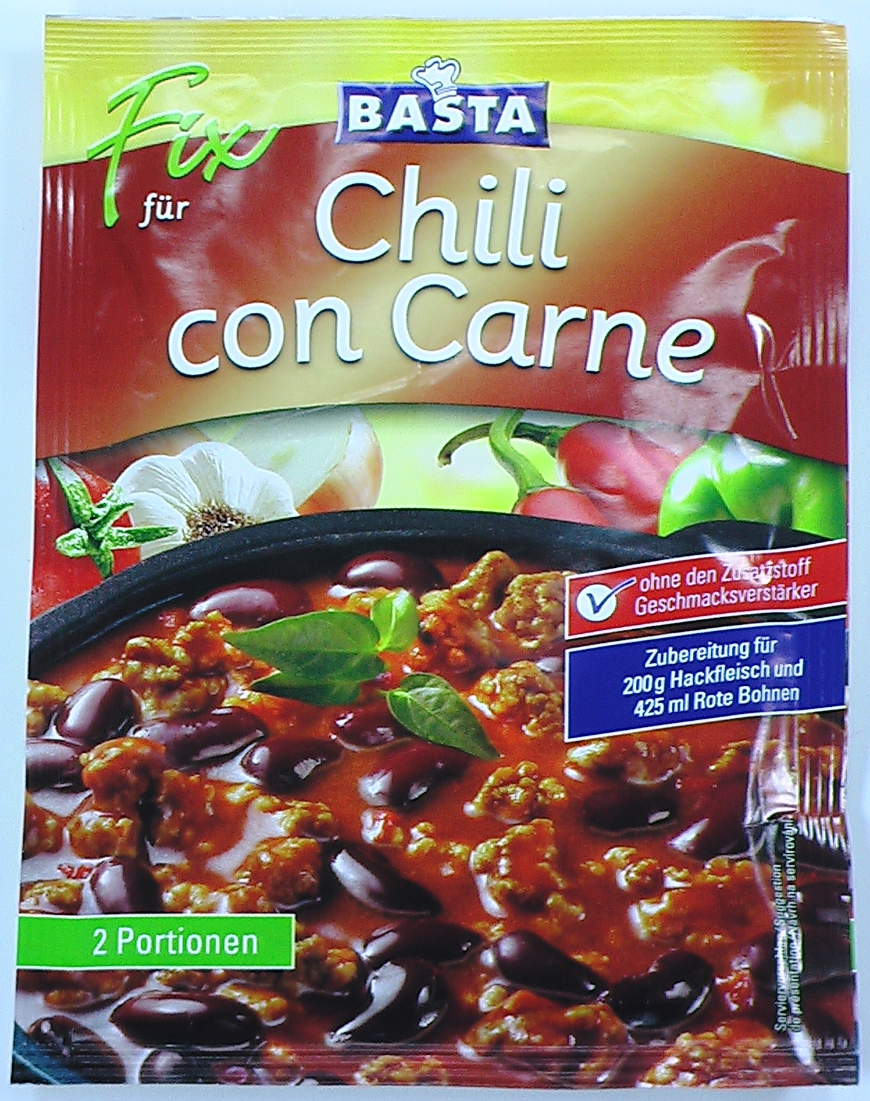 fix f r chili con carne 1 st ck flora gew rze saucen ungek hlt haltbar lebensmittel. Black Bedroom Furniture Sets. Home Design Ideas