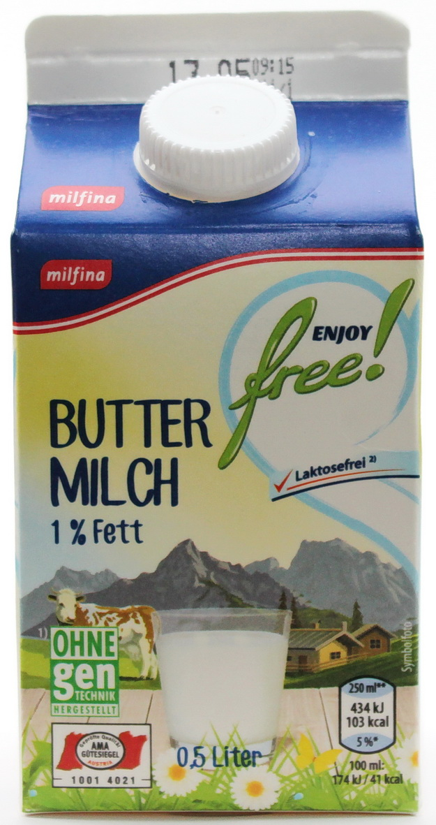 buttermilch 500 gramm hofer oesterreich mynetfair. Black Bedroom Furniture Sets. Home Design Ideas