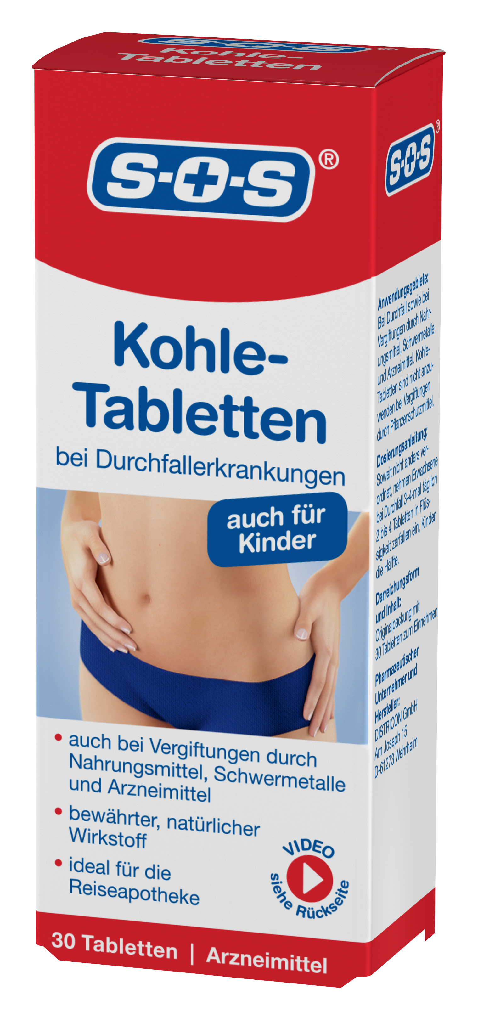sos kohle tabletten 30 st ck rossmann deutschland mynetfair. Black Bedroom Furniture Sets. Home Design Ideas