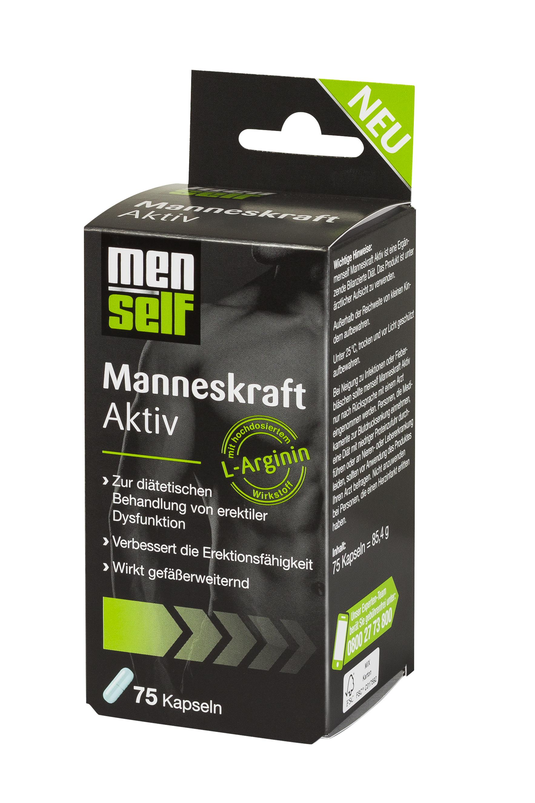 menself Manneskraft Aktiv (75 Stück) · Rossmann