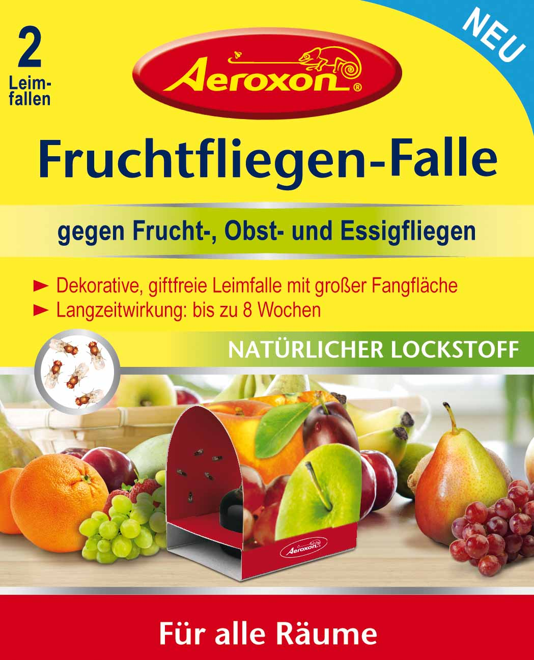 aeroxon fruchtfliegenfalle 2 st ck kaufland deutschland mynetfair. Black Bedroom Furniture Sets. Home Design Ideas