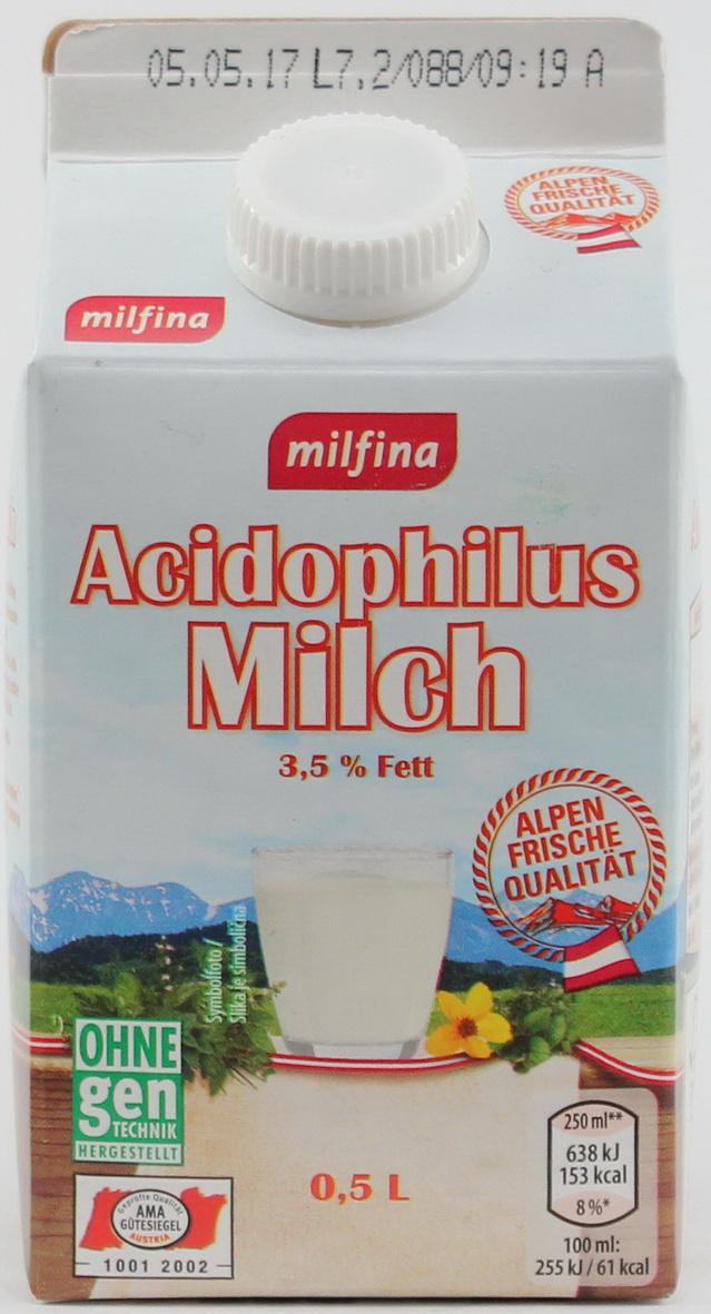 Acidophilus Milch