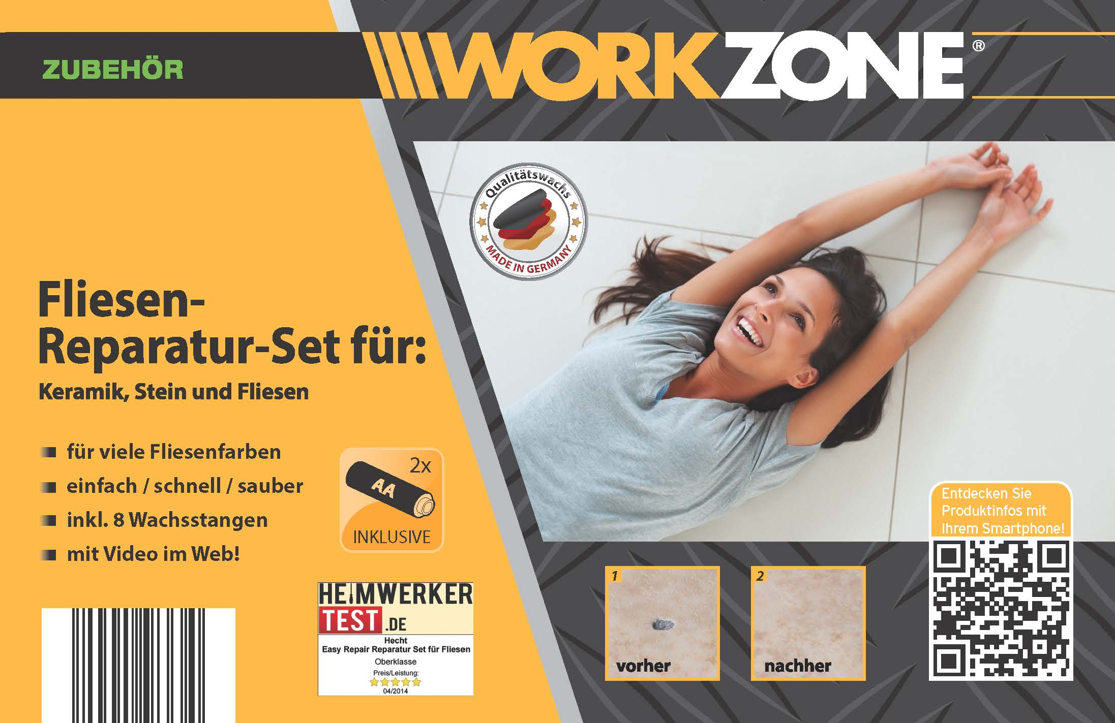 aldi workzone reparaturset f r keramik stein fliesen uvm sets handwerkszeuge. Black Bedroom Furniture Sets. Home Design Ideas