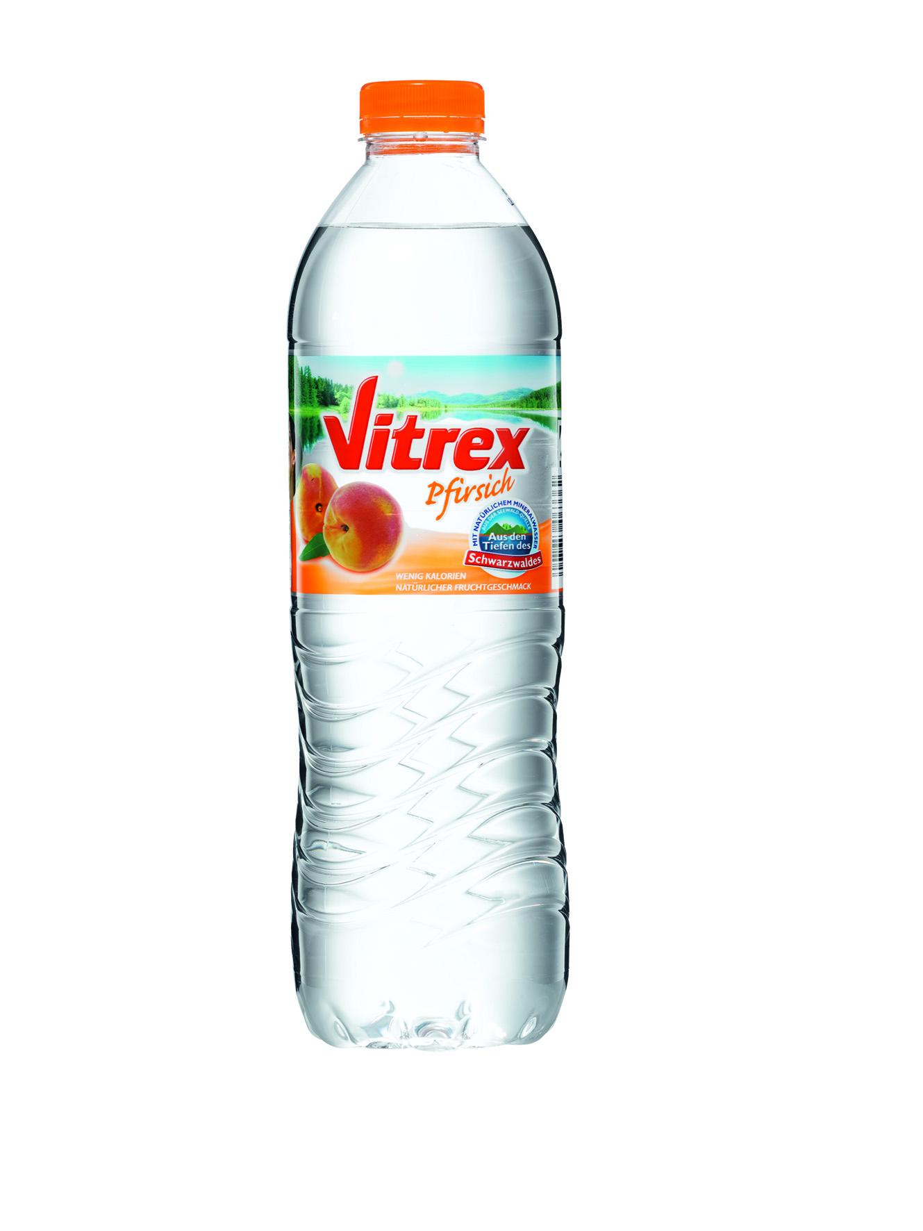 Vitrex Pfirsich 1,5 l (1,5 Liter) Schwarzwald-Sprudel GmbH ...