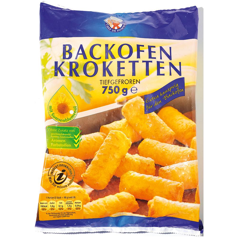 backofenkroketten (750 gramm) bördegold kartoffelprodukte  ~ Backofen Vergessen Auszuschalten