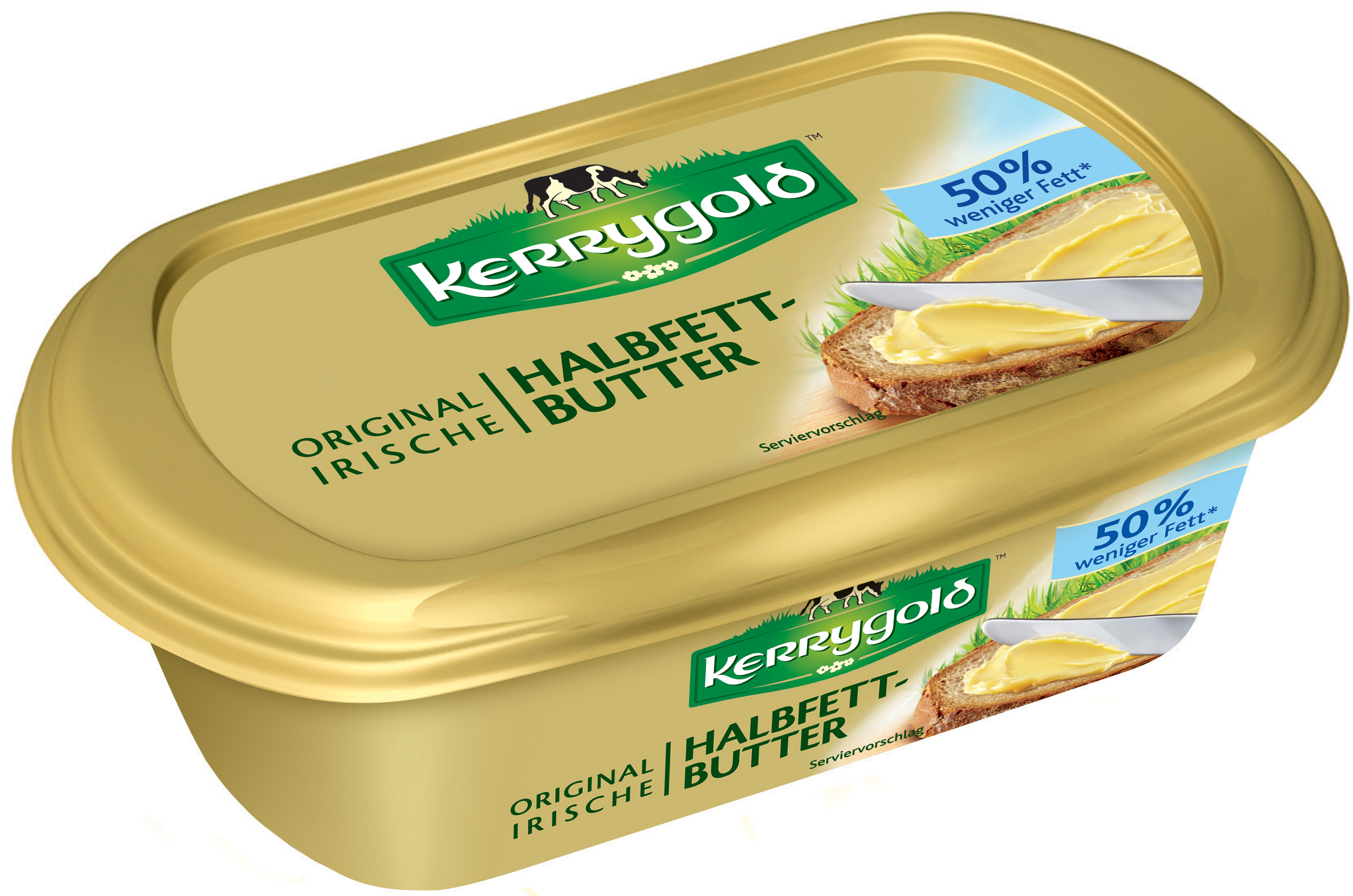 kerrygold original irische halbfettbutter 200g im becher 200 gramm idb deutschland gmbh butter. Black Bedroom Furniture Sets. Home Design Ideas