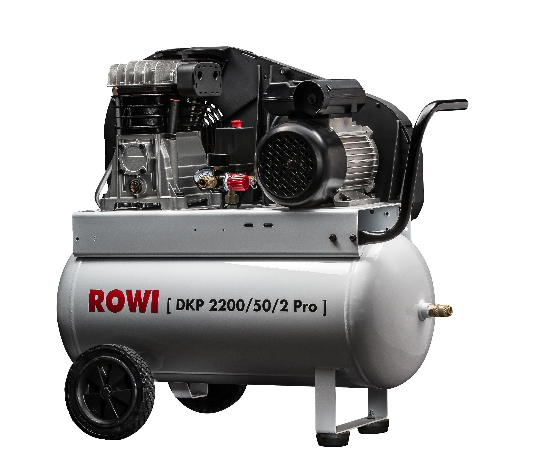 kompressor 2 2 kw pro 50 liter beh lter 10 bar rowi schwei ger te und elektrowerkzeuge vertrieb. Black Bedroom Furniture Sets. Home Design Ideas