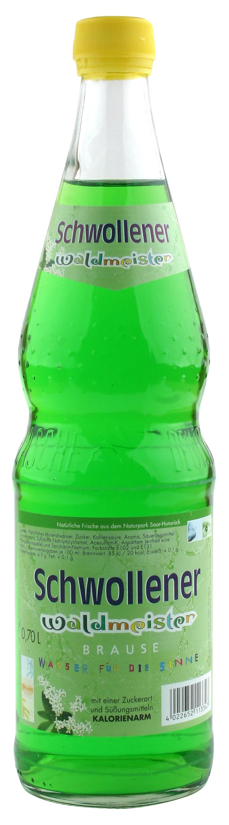 Schwollener Waldmeister (0,7 Liter) Schwollener Sprudel GmbH & Co ...