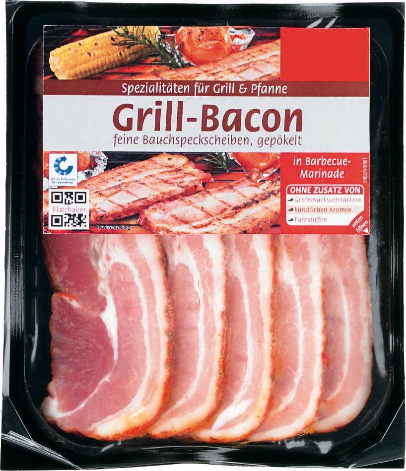 Grill-Bacon in Barbecue-Marinade (5 Stück) Matthies Fleischwaren Convenience Food GmbH & Co. KG ...