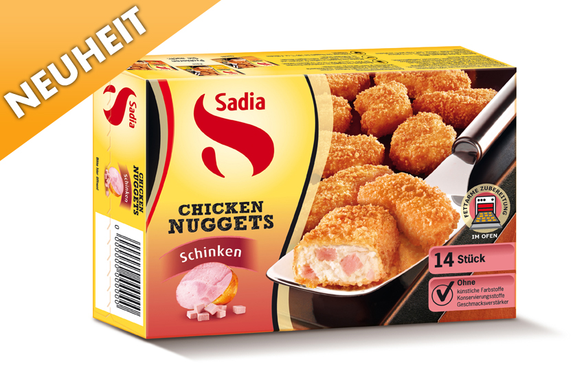 how to say chicken nuggets in german