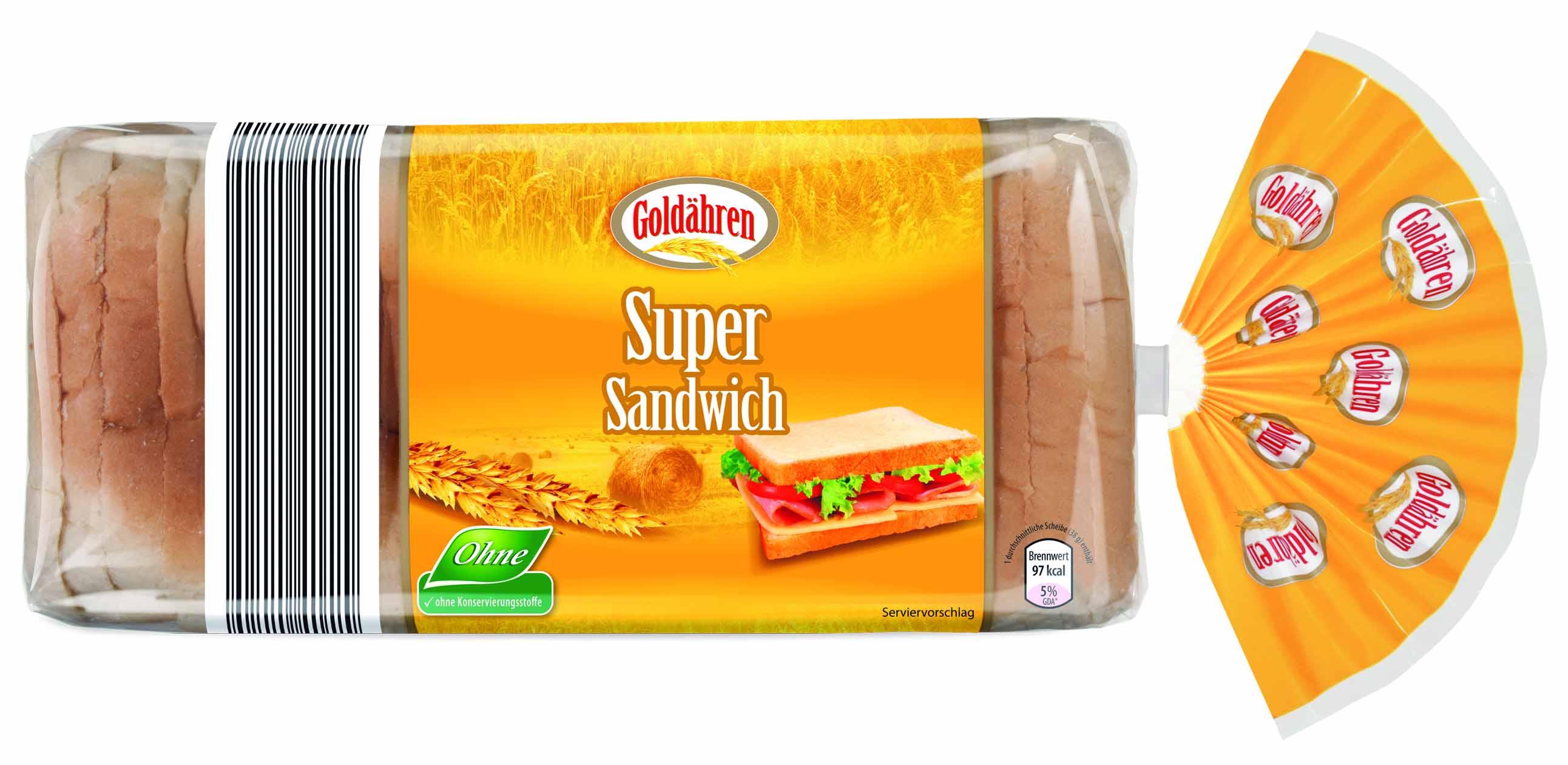 super sandwich 750 gramm brotland gmbh brot ungek hlt. Black Bedroom Furniture Sets. Home Design Ideas