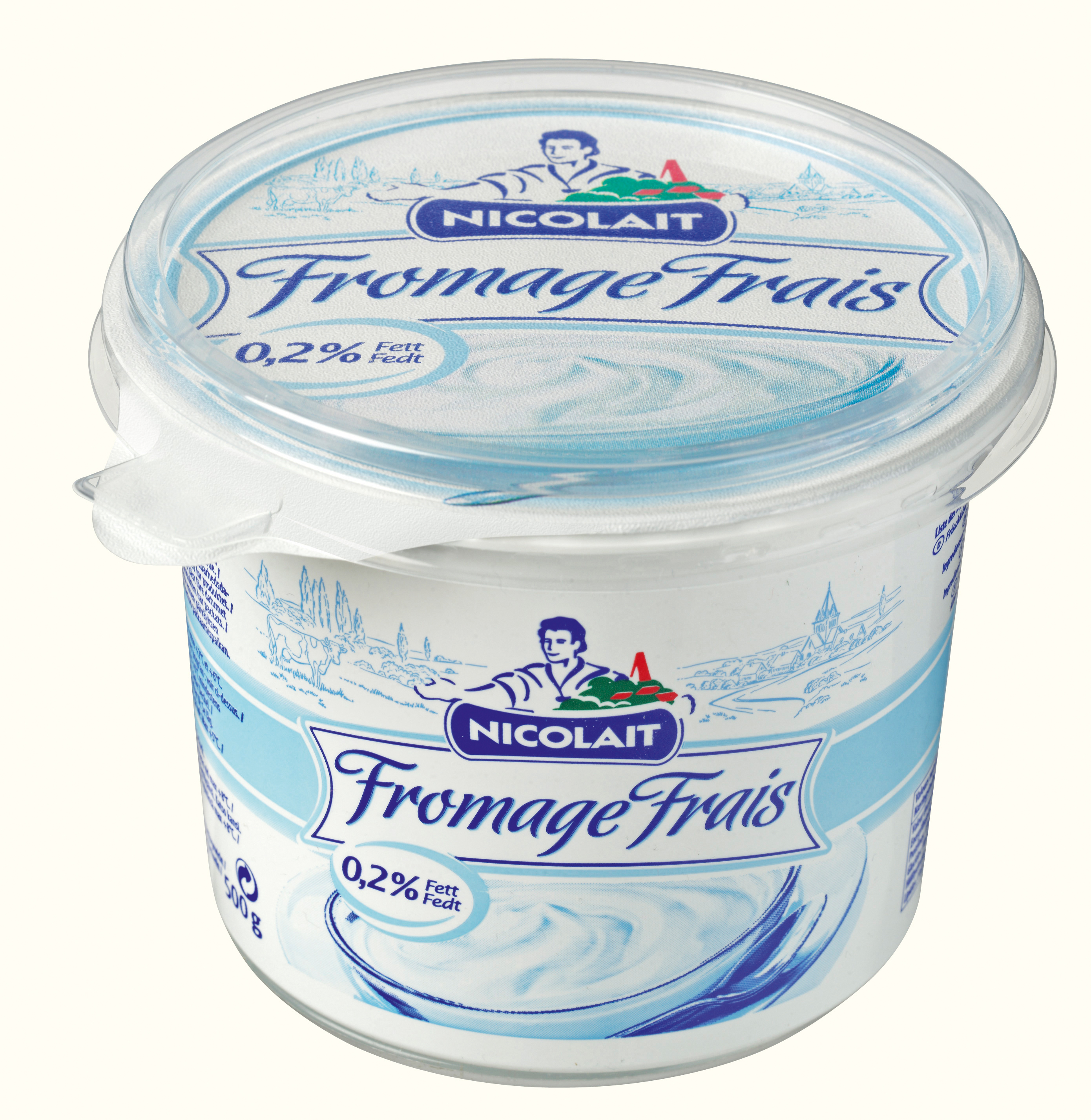 Furniture commercial furniture furniture furniture and furnishings - Nicolait Fromage Frais 0 2 Fett 500 Grams Lactalis