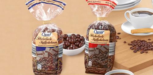 Kaffeebohnen Schokoliert Mit Zartbitter (250 Gramm