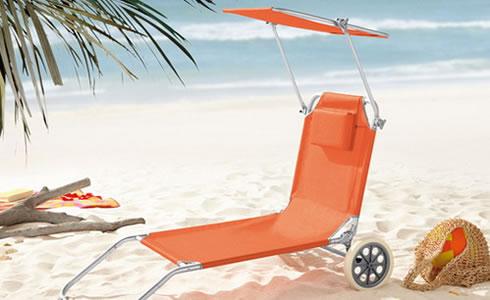 strand und transportliege aluminium 1 st ck. Black Bedroom Furniture Sets. Home Design Ideas