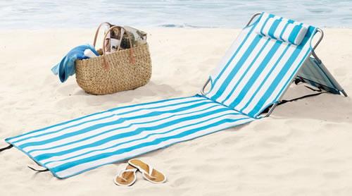 Crivit strandliege  Strandliege, Polyester, 60x235 cm (1 Stück) - - Gartenliegen ...