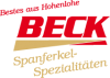 Beck GmbH & Co. KG Spanferkel-Spezialitäten
