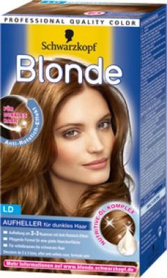 Braunes aufheller haar für Haarfarbe natürlich