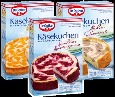 Kasekuchen Kreationen Dr August Oetker Nahrungsmittel Kg Koch