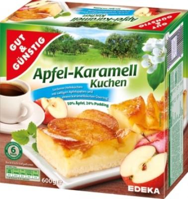 Apfel Karamell Kuchen. Produkteigenschaften