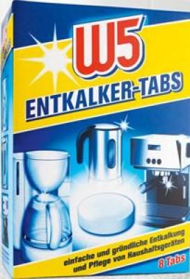 Anwendung waschmaschine w5 tabs entkalker Kalkstopp Tabs